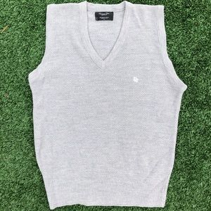 Grey Dior Sweater vest